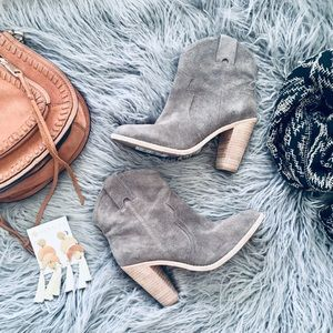 Joie Monte Suede Leather Bootie
